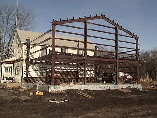 Residential Building Steel Pre Build